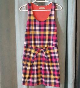 ☆3 for $25☆ Retro colorful plaid dress